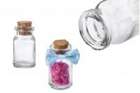 Γυάλινο μπουκαλάκι φαρμακείου 6ml με κωνικό φελλό