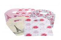 """Πλαστική σακουλίτσα """"χούφτα"""", με καμπυλωτή πιέτα στο πάνω μέρος 18x25cm σε 50 άδες"""