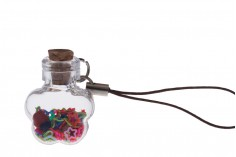 Διακοσμητικό με γαντζάκι για μπομπονιέρες - κλειδιά - κινητό