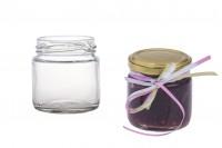 Μπομπονιέρες βαζάκι στρογγυλό 106 ml *