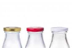 Μπουκαλάκι για χυμό 300 ml (με τετραγωνισμένο σώμα) -δέχεται καπάκι με τρύπα για καλαμάκι