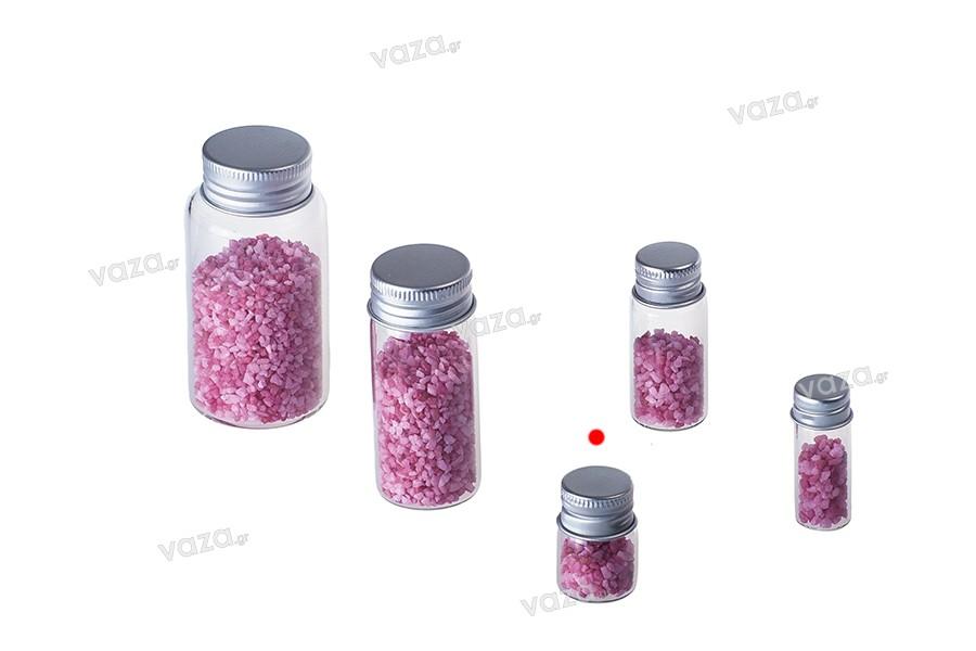Μικρά μπουκαλάκια 5 ml με καπάκι αλουμινίου 9-6