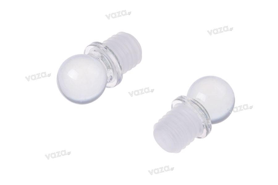 Πώμα γυάλινο για φιάλη 100 ml (κωδ. 101-42)