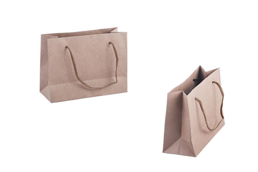 Τσάντα δώρου χάρτινη κραφτ - κορδόνι 3 mm με ωραία υφή στην απόχρωση της  τσάντας 144x60x110 ea6dad00fef