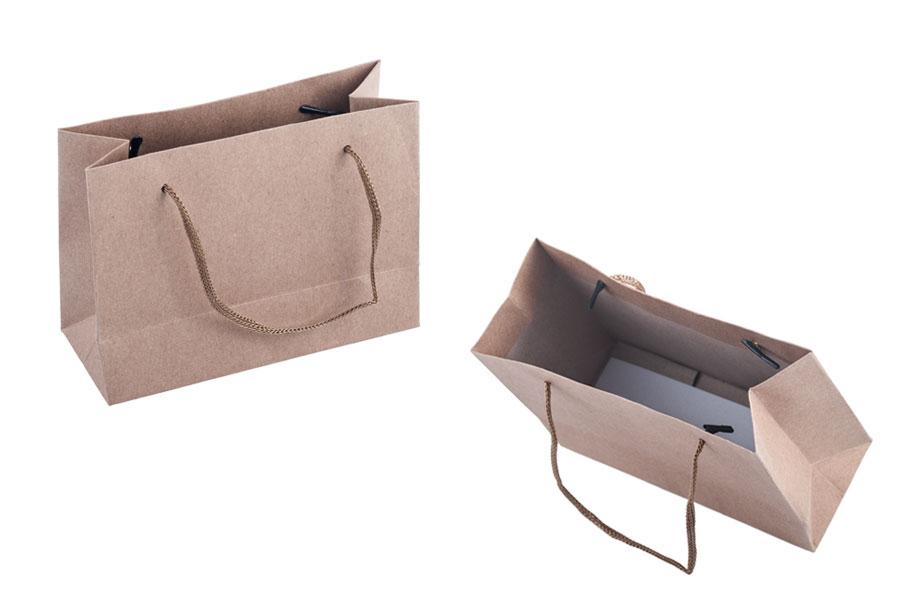 Sac Cadeau En Papier Kraft Avec Poignées Cordelières 3mm 144x60x110