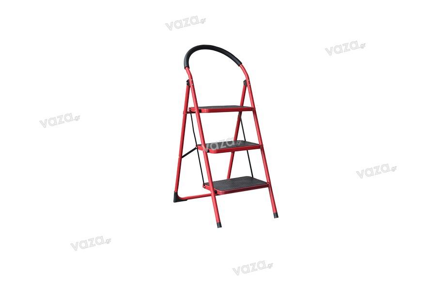 Σκάλα αλουμινίου 3 σκαλιών