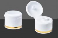 Καπάκι πλαστικό 24/410 flip top