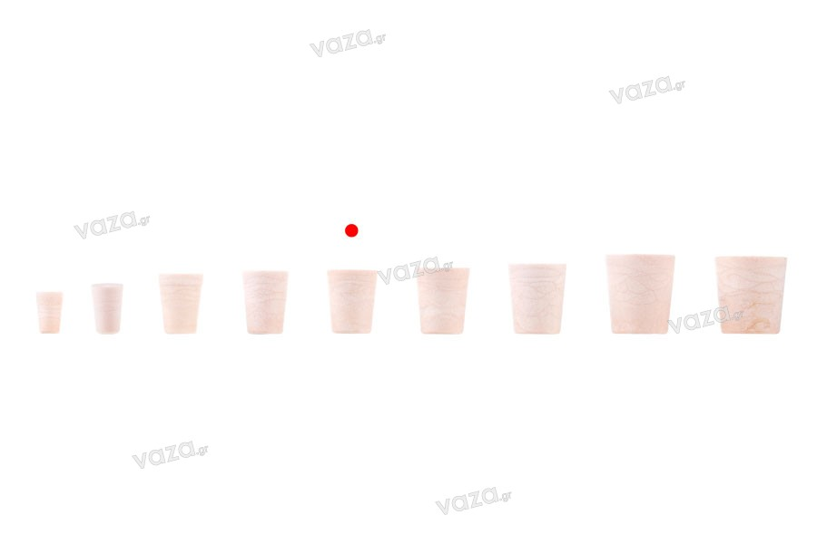 Κωνικός φελλός σιλικόνης με διαστάσεις 25,8x20,6/15,8 mm - για Φ 18