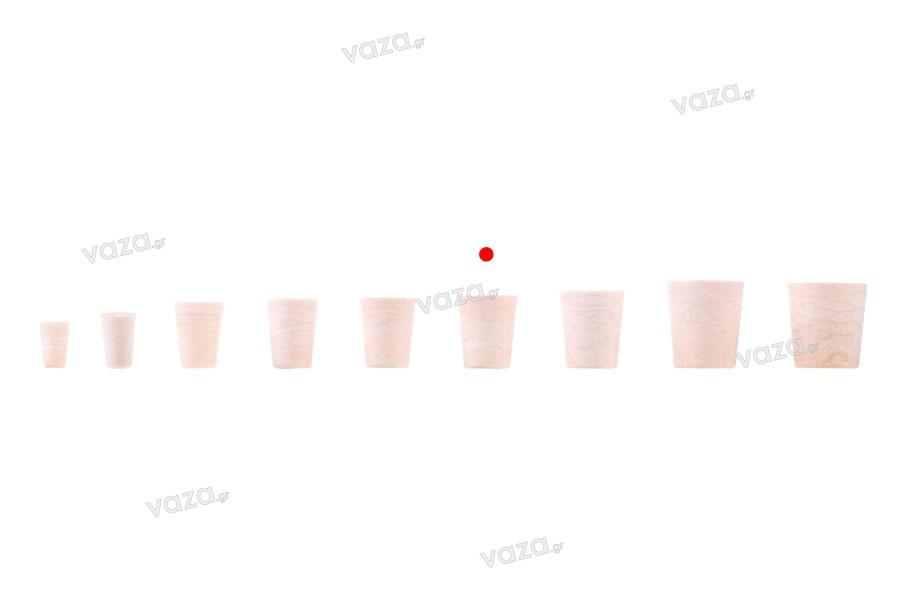 Κωνικός φελλός σιλικόνης με διαστάσεις 27,2x22,2/17,5 mm - για Φ 19 (PP 28)