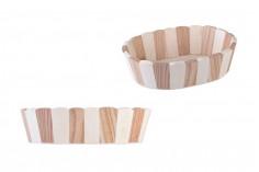Καλάθι ξύλινο οβάλ 225x178x60