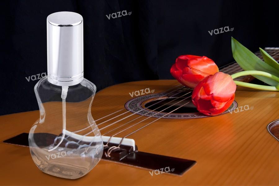 Σπρέι 10 ml για αρώματα σε σχήμα κιθάρας και καπάκι με ρίγα