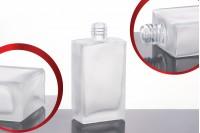 Flacon de parfum 60 ml carré dépoli