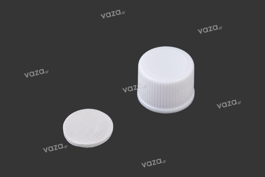 Καπάκι πλαστικό PP18 με παρέμβυσμα