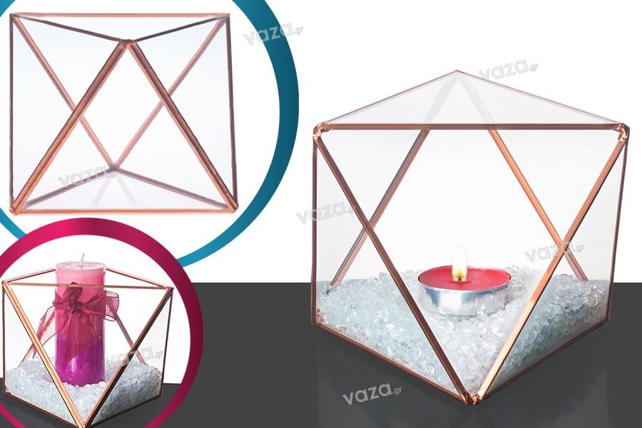 Διακοσμητικό για κερί γυάλινο