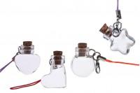 Διακοσμητικό με γαντζάκι για μπομπονιέρες - κλειδιά - κινητό σε διάφορα σχήματα