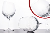 Red wine glass beveled 780 ml