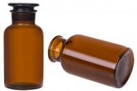 Bouteille pharmaceutique avec bouchon en verre 500 ml
