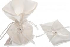 Πουγκί σατέν για μπομπονιέρες, κουφέτα, κοσμήματα