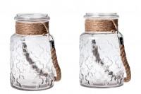 Verre décoration vase 3000 ml avec poignée sans couvercle 110 x 270 mm