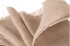 Ύφασμα - τσουβαλόπανο λινάτσα από γιούτα (φάρδος 1,60 m και μήκος 1 m ανά τεμάχιο)