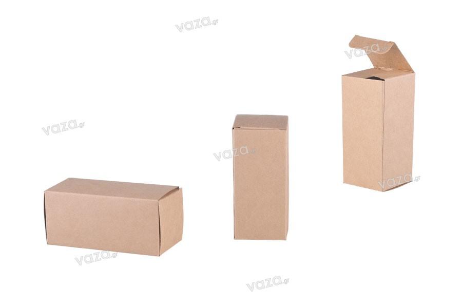 Κουτάκι χάρτινο κραφτ οικολογικό 47x47x105 - 20 τμχ