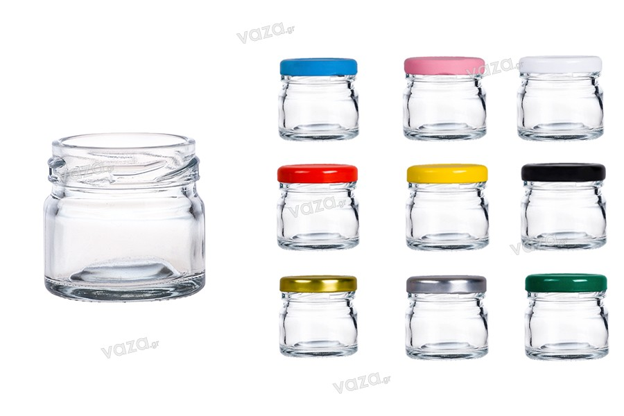 Petit pot en verre de 30 ml *