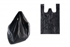 Σακούλα πλαστική 26x40 cm σε μαύρο χρώμα - 100 τμχ