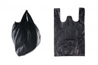 Sac plastique 32x50 cm noir – pack de 100 pièces