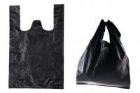 Sac plastique 35x50 cm noir – pack de 100 pièces