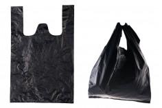 Σακούλα πλαστική 35x55 cm σε μαύρο χρώμα - 100 τμχ