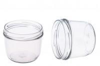 Βάζο γυάλινο 230 ml για γλυκά και κεριά