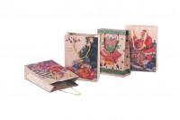 Sac d' emballage pour cadeaux de Noël avec cordon 150x60x200 en 4 dessins