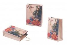 Χριστουγεννιάτικη τσάντα δώρου με κορδόνι 150x60x200 σε 4 σχέδια