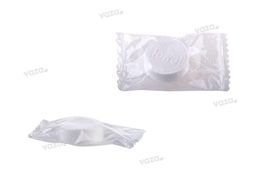 Μαγική πετσέτα συμπιεσμένη σε μέγεθος χαπιού (συσκευασία 200 τεμαχίων)