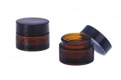 Βαζάκι για κρέμα γυάλινο 30 ML σε διάφορα χρώματα - χωρίς καπάκι