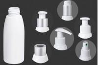 Μπουκάλι λευκό πλαστικό 100 ml PP 24