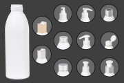 Μπουκάλι λευκό πλαστικό 150 ml PP 24