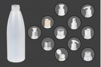 Μπουκάλι ημιδιάφανο πλαστικό 200 ml PP 24
