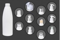 Μπουκάλι λευκό πλαστικό 200 ml PP 24