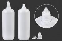 Μπουκαλάκι πλαστικό 350 ml με στόμιο για σταγόνες