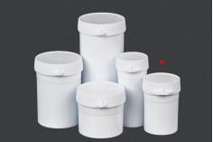 Μπουκαλάκι σωλήνας με κουμπωτό καπάκι 20 ml για χάπια