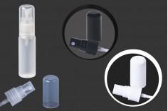 Μπουκάλι πλαστικό ημιδιάφανο 20ml με στόμιο PP 18