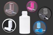 Μπουκάλι πλαστικό κυλινδρικό 35 ml (PP 18)