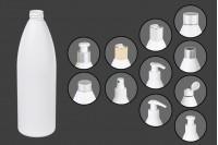 Μπουκάλι λευκό πλαστικό 500 ml PP 24
