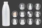 Μπουκάλι ημιδιάφανο πλαστικό 125 ml PP 24