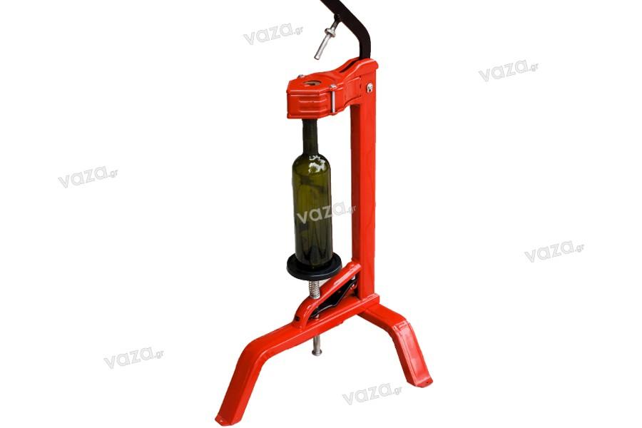 Κλειστικό μηχάνημα φελλού για μπουκάλια κρασιού (επιτραπέζιο)