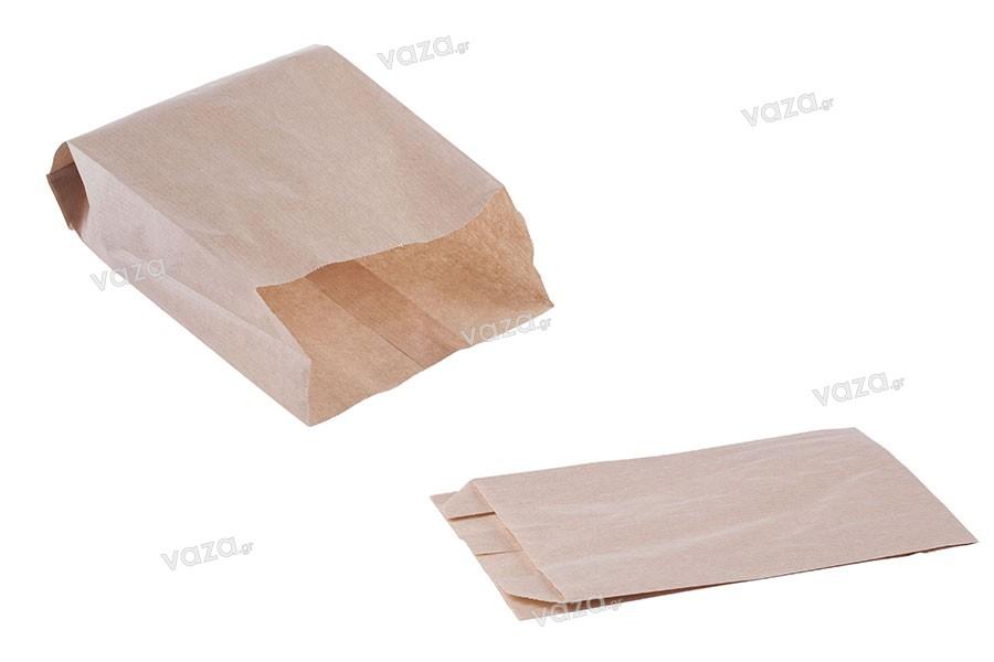 Σακούλα κραφτ καφέ διάστασης 120x50x200 χωρίς παράθυρο - 100 τμχ