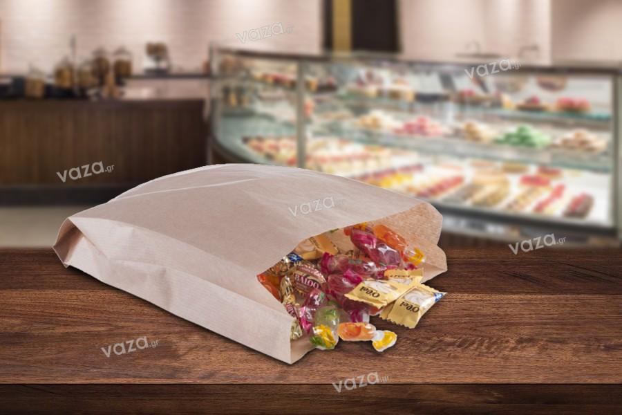 Σακούλα κραφτ καφέ διάστασης 180x60x300 χωρίς παράθυρο - 100 τμχ