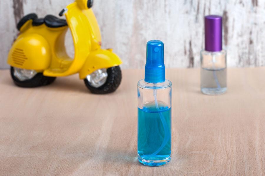 Offre! Flacon de parfum en verre rond 50 ml – De 0,50€ à 0,25€ par pièce (commande minimum: 1 carton)