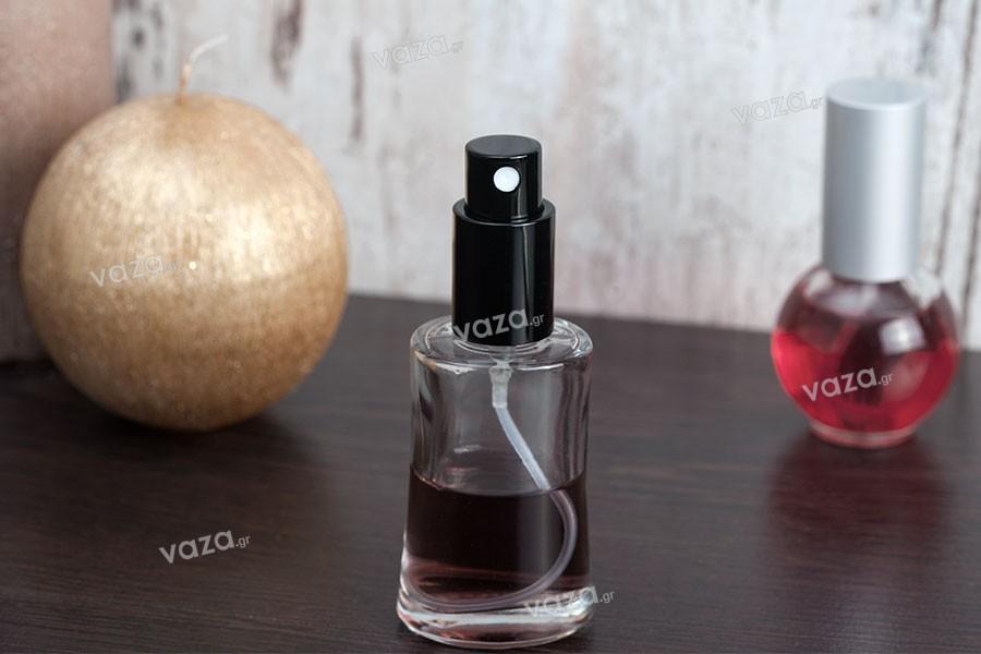 Γυάλινη οβάλ φιάλη αρωματοποιίας 30 ml (18/415)